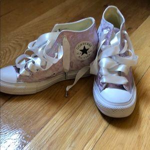 Women's Converse Wedge Sneaker -Bridal